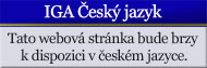 IGA Czech Language Coming Soon